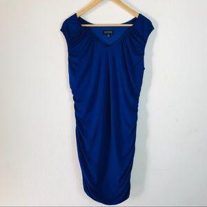 Enfocus Women Cobalt Blue Plus Size Dress Size 14W